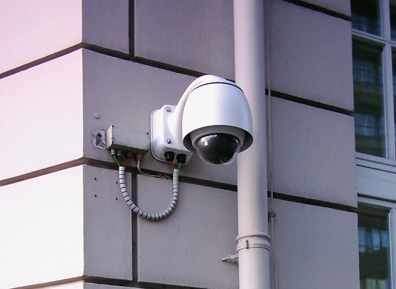 Sikkerhetskamera på private eiendom
